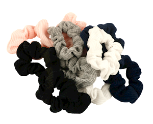 Scrunchies Ribbed Fabric 10pc