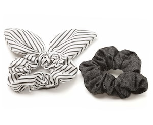 Scrunchie Bow Tie Mixed