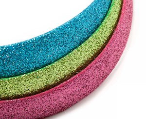 Glitter Headbands Mixed 3pk