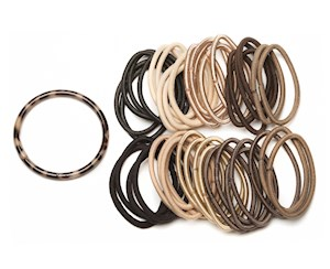 Elastics with Storage Ring Blonde 40pk