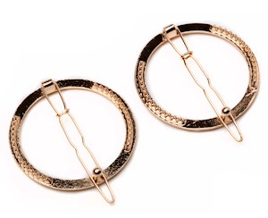 Barrette circle 2pc