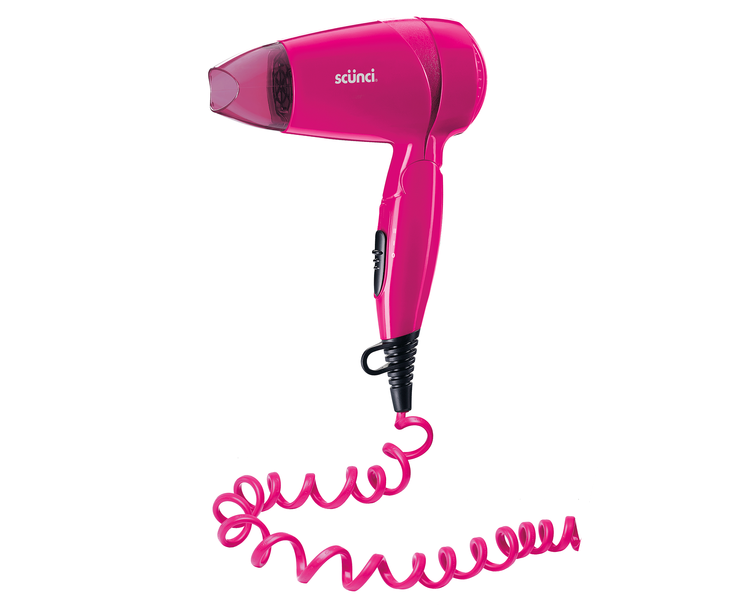 Curly Cord Compact Hair Dryer